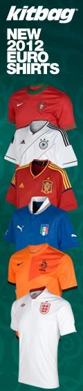 New Euro 2012 Shirts
