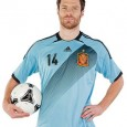 This is the new Spain away kit Euro 2012, Spain&#8217;s away shirt for the 2012 European Championships. The new Spain away Euro 2012 kit has been made by Adidas. Spain...