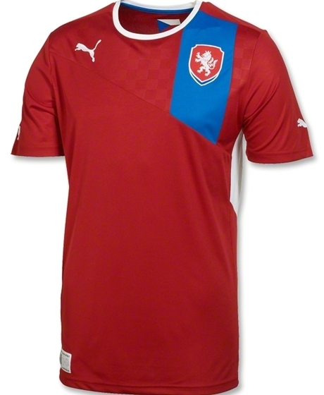 New Czech Republic Euro 2012 Jersey