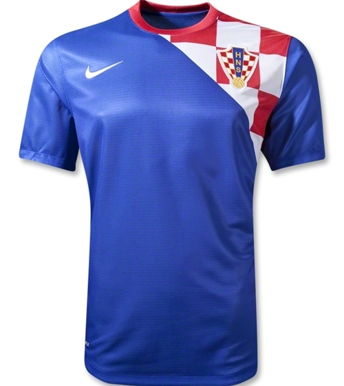 Croatia Away Jersey Euro 2012