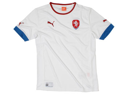 Czech Republic Away Jersey Euro 2012
