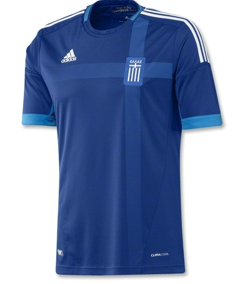 Greece Away Jersey Euro 2012