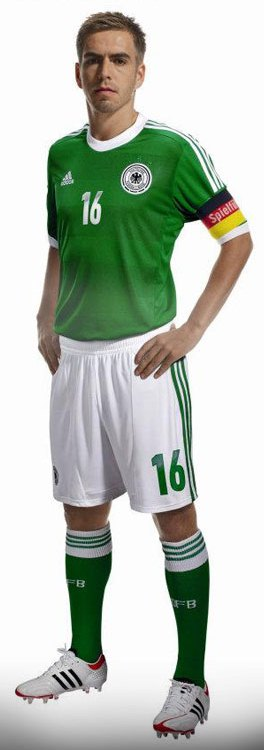 Green Germany Jersey Euro 2012