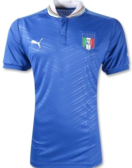Italy Euro 2012 Shirt