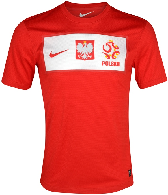 New Poland Away Euro 2012 Kit Red