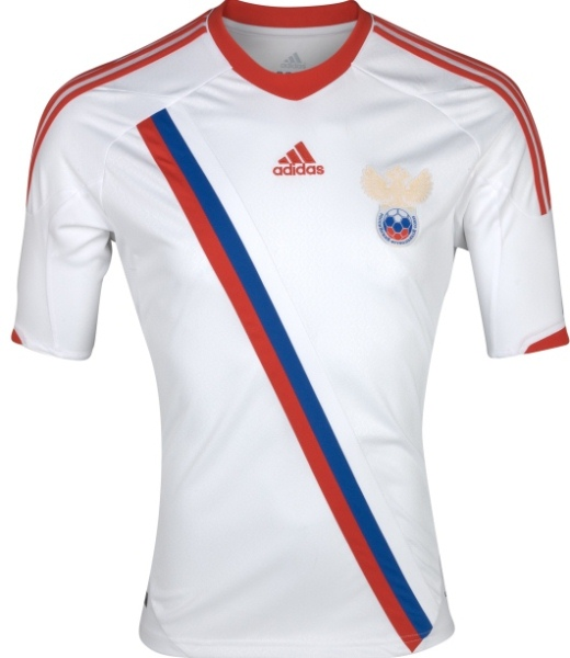 Russia Euro 2012 Shirt Away Jersey