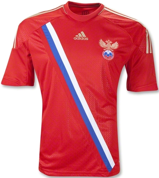 Russia Jersey Euro 2012