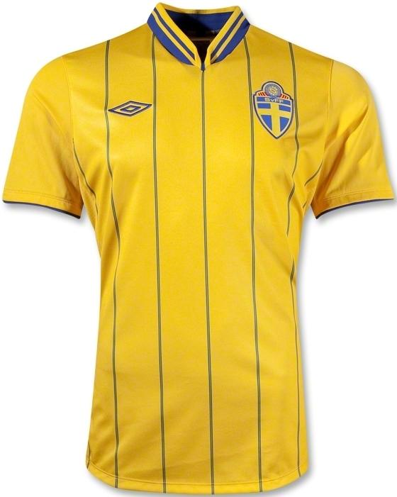 Sweden Euro 2012 Jersey Adidas