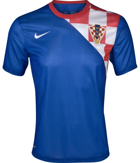 the latest 9a4b6 92525 Croatia Away Euro 2012 Jersey- New Croatian Euro 2012 Kit Nike