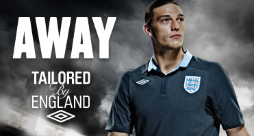 England Away Top Euro 2012 Carroll