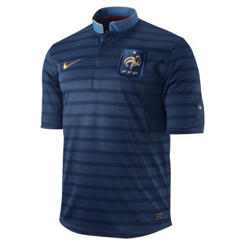 France Home Kit Euro 2012