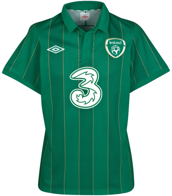 Umbro Ireland Euro 2012 Jersey New Irish Euro 2012 Home