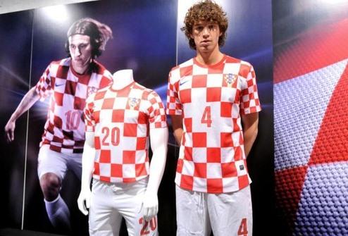 Nike Croatia Home Euro 2012 Jersey