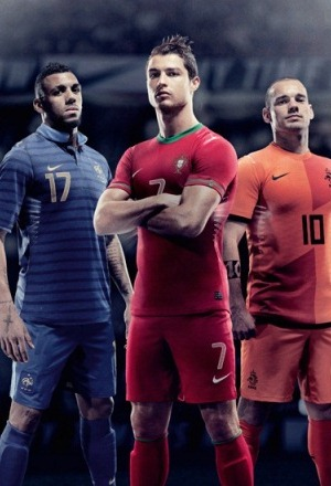 Nike Portugal Home Kit Euro 2012