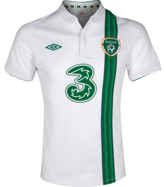 Republic of Ireland Away Kit Euro 2012 Umbro