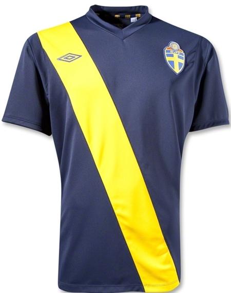 Sweden Away Jersey Euro 2012 Sash