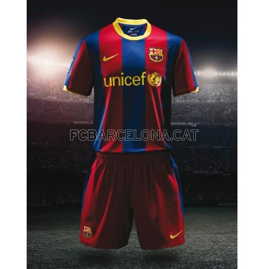 Barcelona 2010 Soccer Jersey