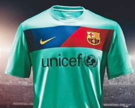 Barcelona Green Jersey 2010