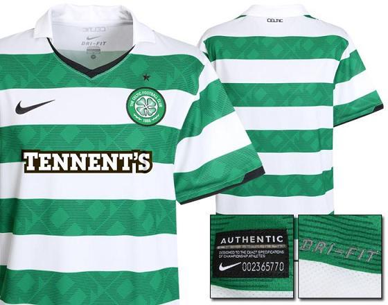 Celtic 2010 Jersey