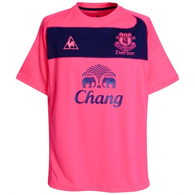 Everton away shirt 2010