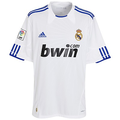 Real Madrid Adidas Shirt 10-11