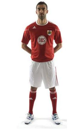 Bristol City Adidas Shirt
