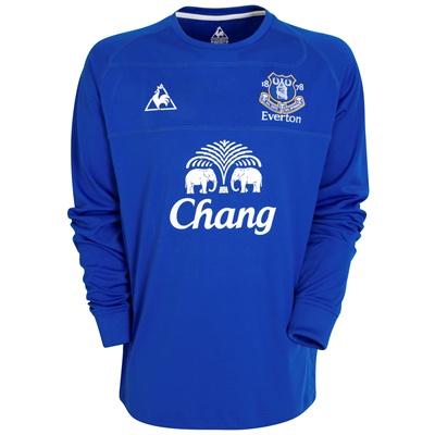 Everton Home Shirt 10-11