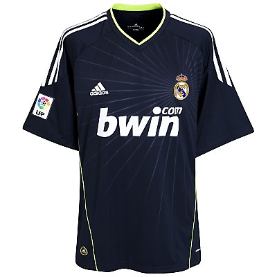 Real Madrid Away Shirt 2010