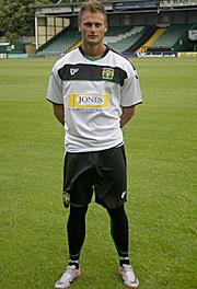10-11 Yeovil Away Strip