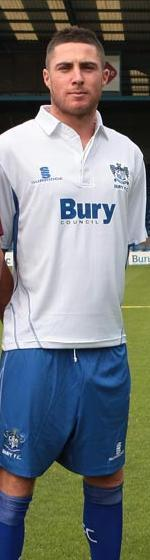 Bury Home Kit  2010-11