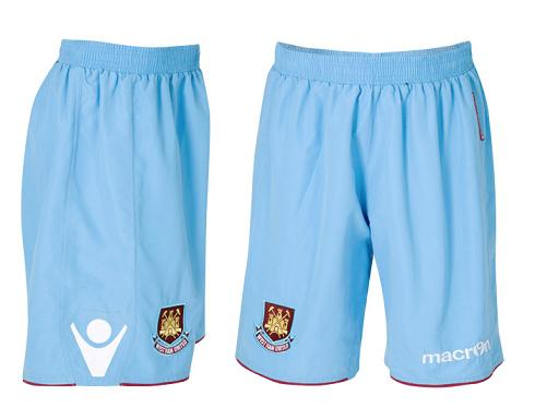 WHUFC Shorts 2010