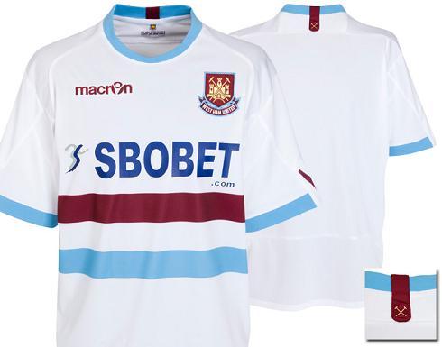West Ham Away Shirt 10-11