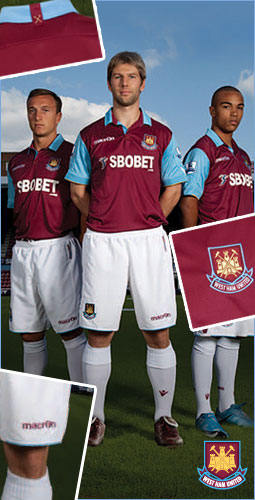 West Ham United Home Kit   Football Kit News