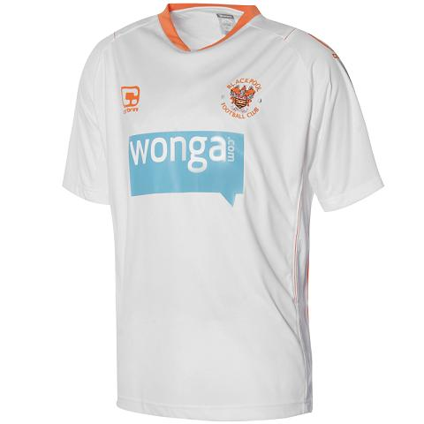 Blackpool Away Kit 10-11