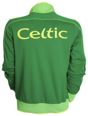 Celtic Nike Jacket Back
