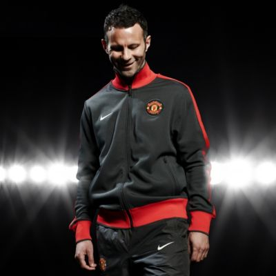 Giggs Black Man United Track Jacket