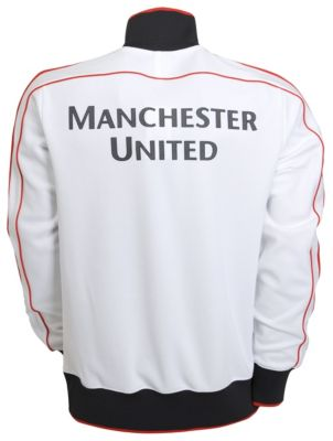 Man United White N98 Back
