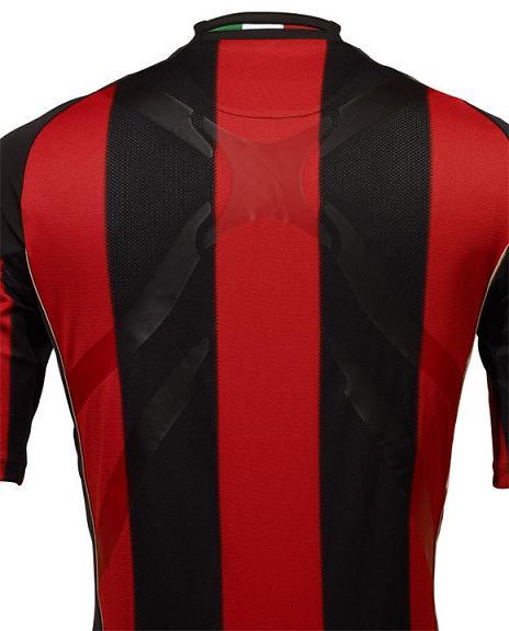 Milan shirt back side