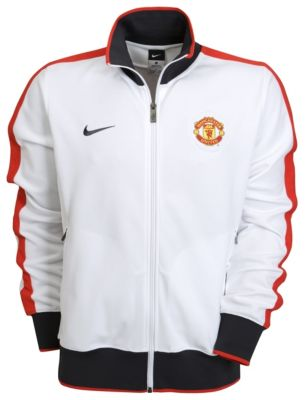 White Manchester United Jacket