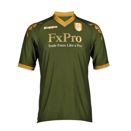 Fulham Third Kit 10-11 Green
