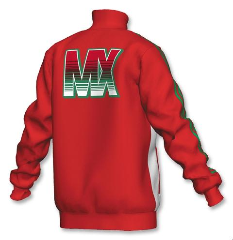 Mexico Track Top Back