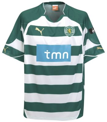 Sporting Lisbon Home Shirt 2010