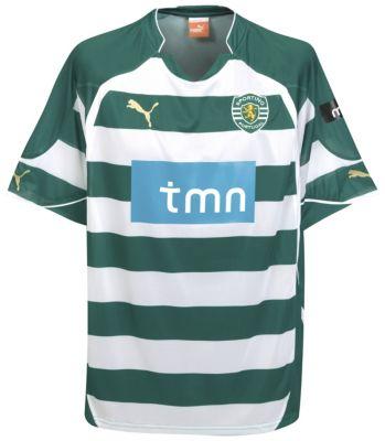 Sporting Lisbon Home Shirt 2010