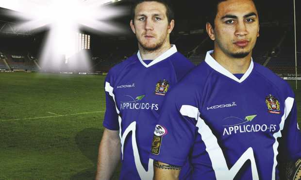 Wigan Warriors 2011 Away Top
