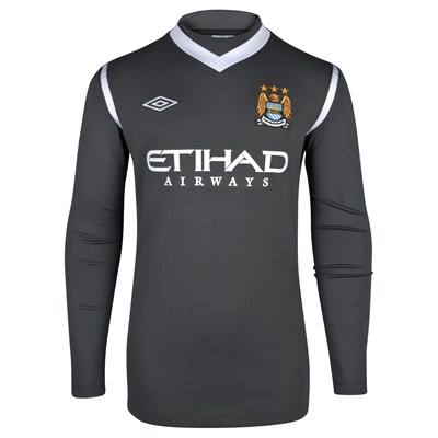 New Manchester City Goalkeeper Kit 11-12