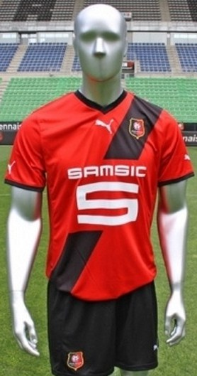 New Stade Rennais Home Shirt 11-12