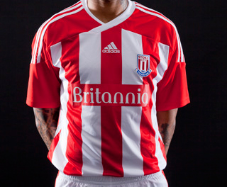 Stoke City Home Top 2011-2012