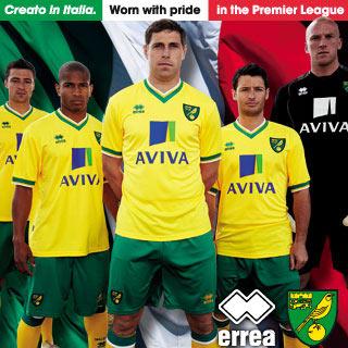 Errea Norwich Kit 11-12