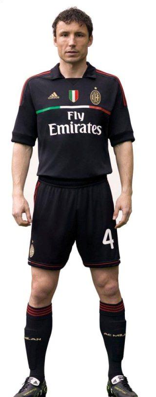 New AC Milan Third Shirt 2011-2012