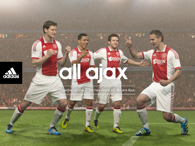 New Ajax Home Kit 11-12 Adidas